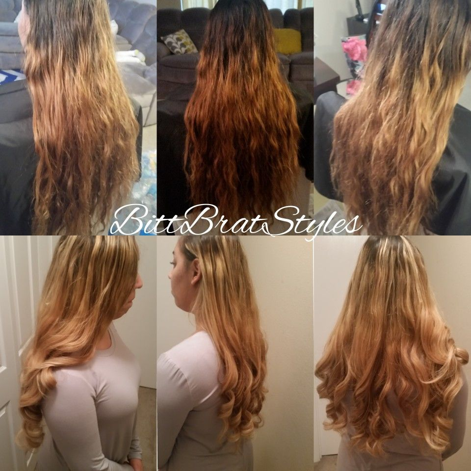 Wella Toner T11 And T27 Long Blonde Hair Long Blonde Hair