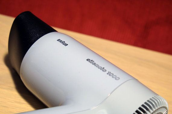 Neue Box BRAUN P 1000 Silencio Haar Trockner 4588 von RetroBraun