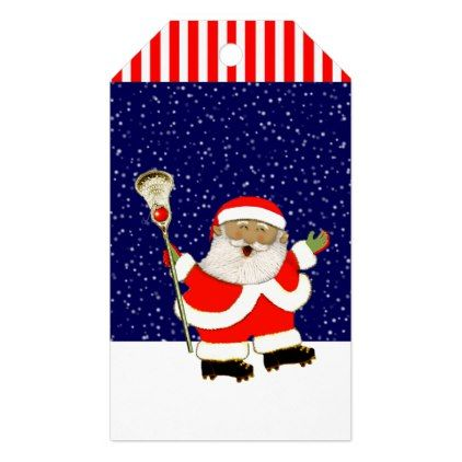 Lacrosse Christmas Gift Tags