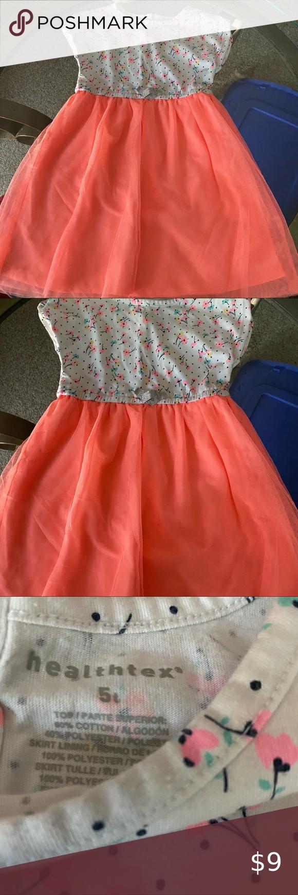 Size 5t Neon Floral Dress Clothes Design Floral Dress Kids Dresses [ 1740 x 580 Pixel ]