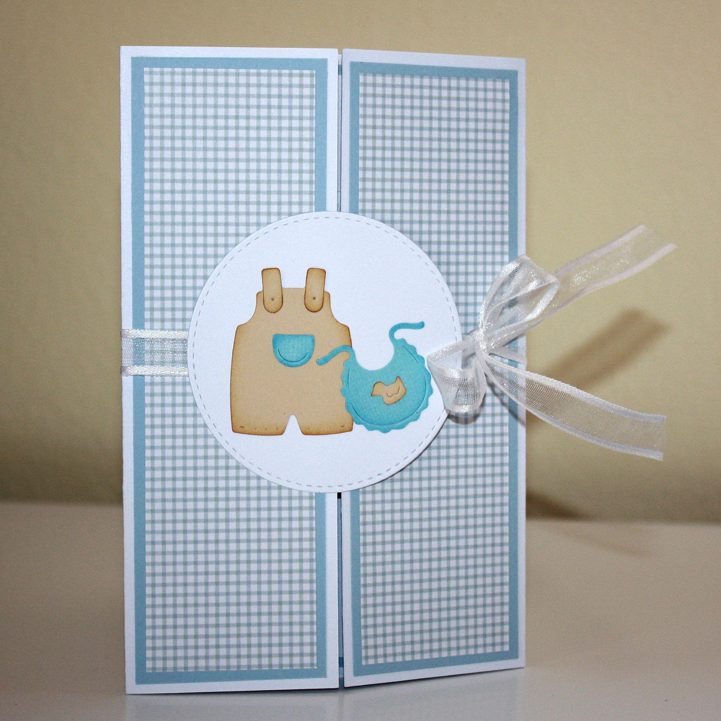 Gate cards for a newborn boy