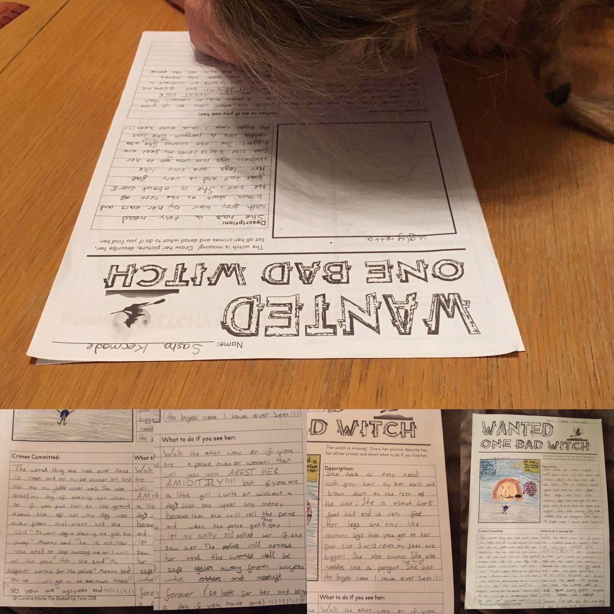 Halloween Writing Packet S Teacherspayteachers