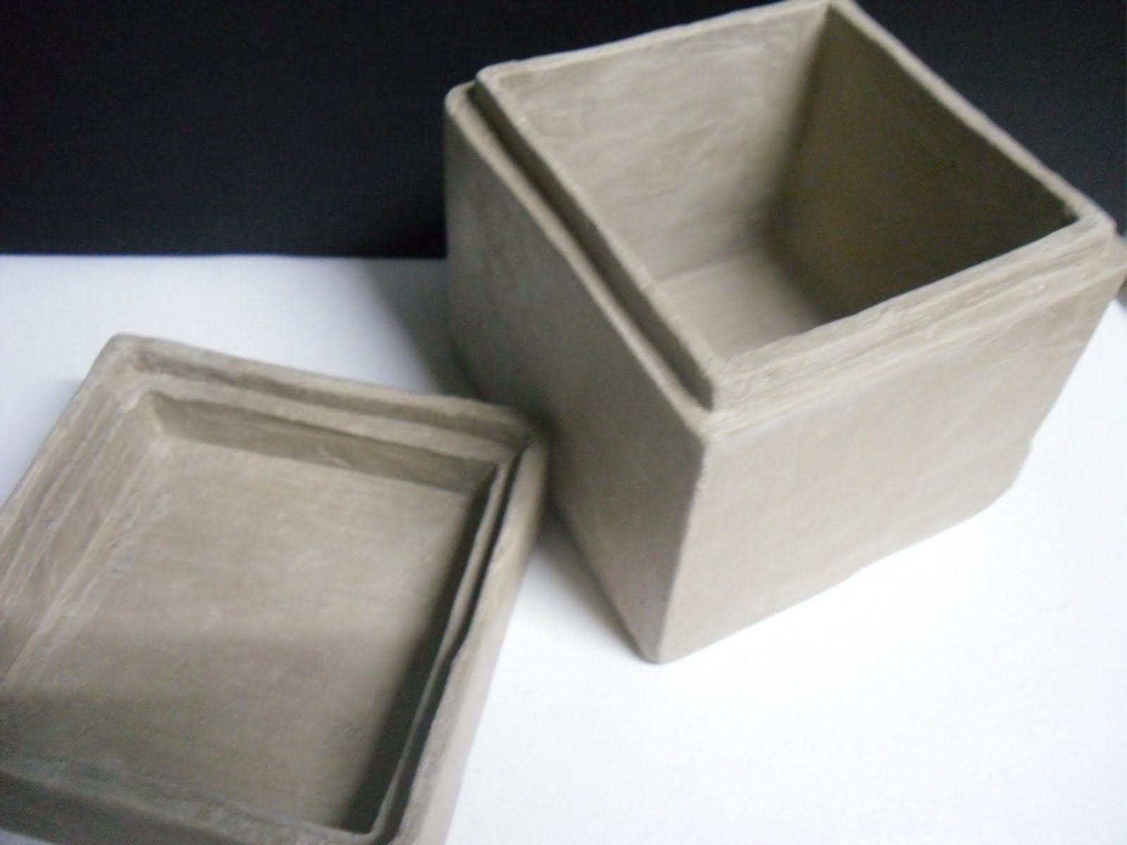 Just Clay My Slab Box Slab Ceramics Slab Pottery Ceramic Jars