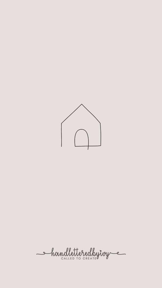 Minha Casa Instagram Pictogrammen Instagram Ideeen Lijntekeningen