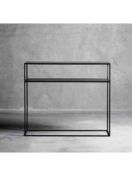 konsolbord Konsolbord metal med hylde   sort, tine k home 3395kr | For Him in  konsolbord