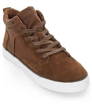 Toms Camila Brown Weatherized Womens High Top Shoes