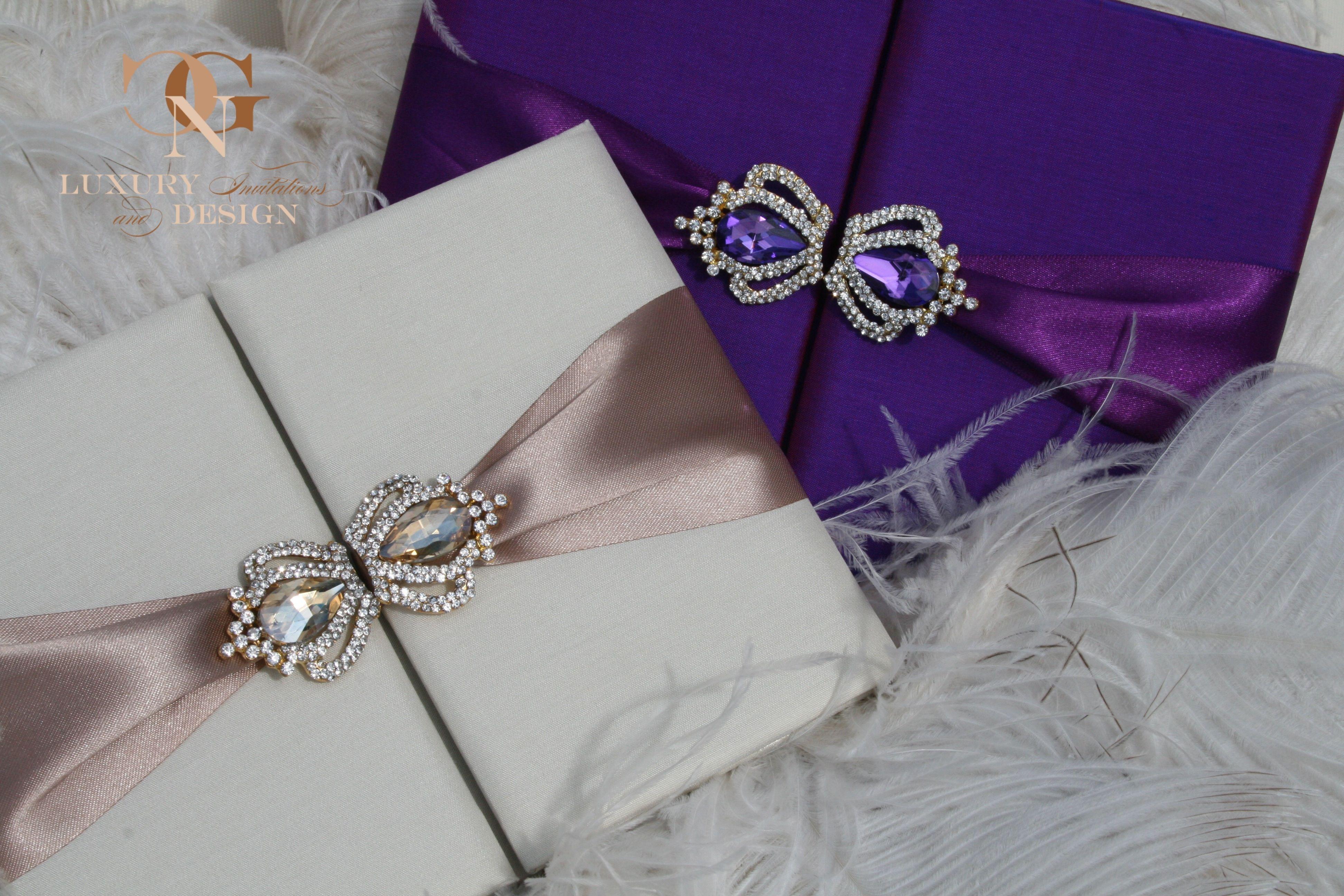 Purple Silk Wedding Invitations By Gnc Luxury Invitations Design In Switzerland Luxus Seiden Hochzeitseinladungen Hochzeitseinladung Einladungen Hochzeit