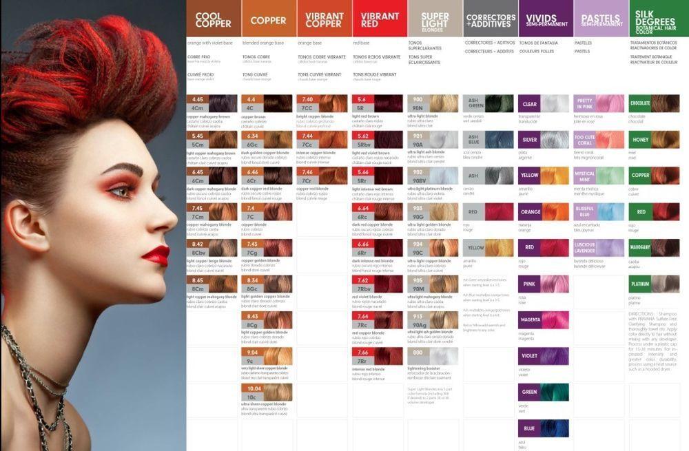 Pravana Chromasilk Vivids Pastels Hair Color 3 Oz U Pick All Hair Color Chart Matrix Hair Color Pravana Hair Color