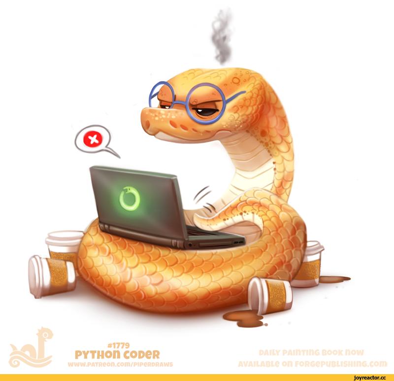 Прикольные змейки в картинках