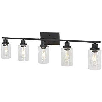 Photo of AmazonSmile: 5-light wall lights MELUCEE Vanity Lights bathroom lights …