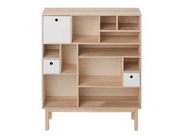 Kast Wit Hout : Houten tv meubel tact op maat gemaakt weken levertijdu thuins