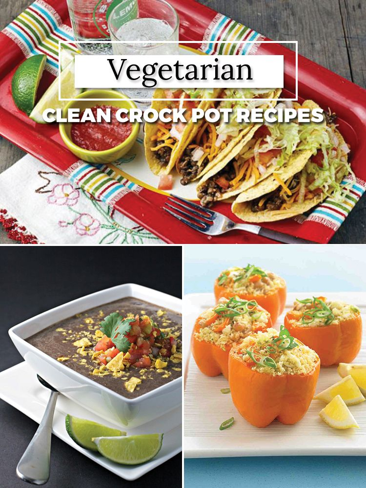 Vegetarian Clean Eating Crock Pot Recipes Vegetarian Crockpot