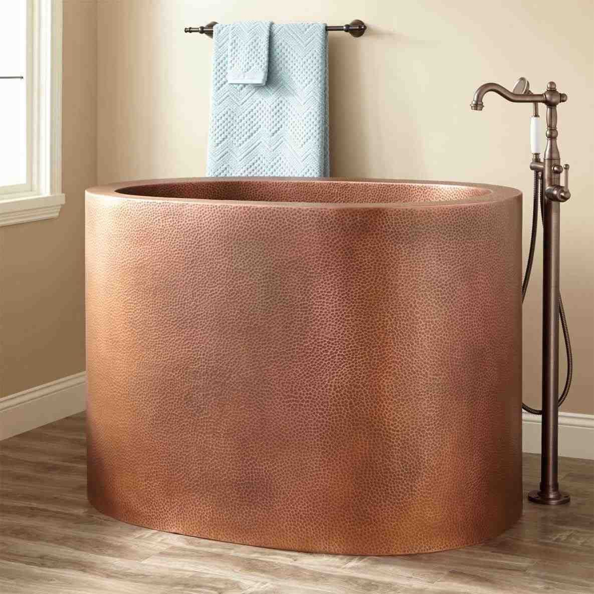 This hammered copper bathroom accessories - small but sassy. home ...