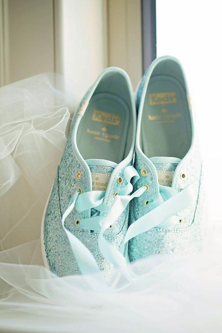 57974c44ba59 Keds X Kate Spade New York Champion Glitter sneakers in light blue matte  glitter