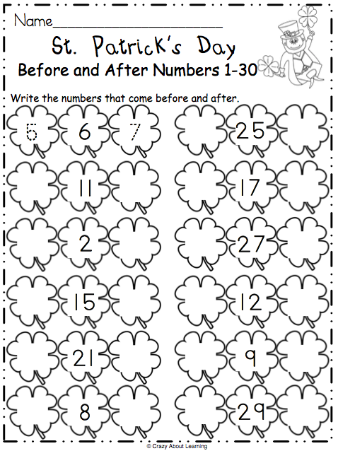 Free St Patrick S Day Math Worksheet Made By Teachers Math Worksheet Math Worksheets St Patrick Day Activities