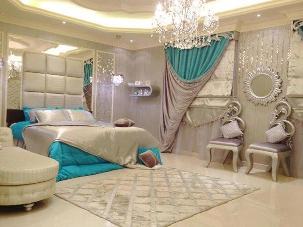 Merveilleux Rich Bedroom Designs For Royal Look