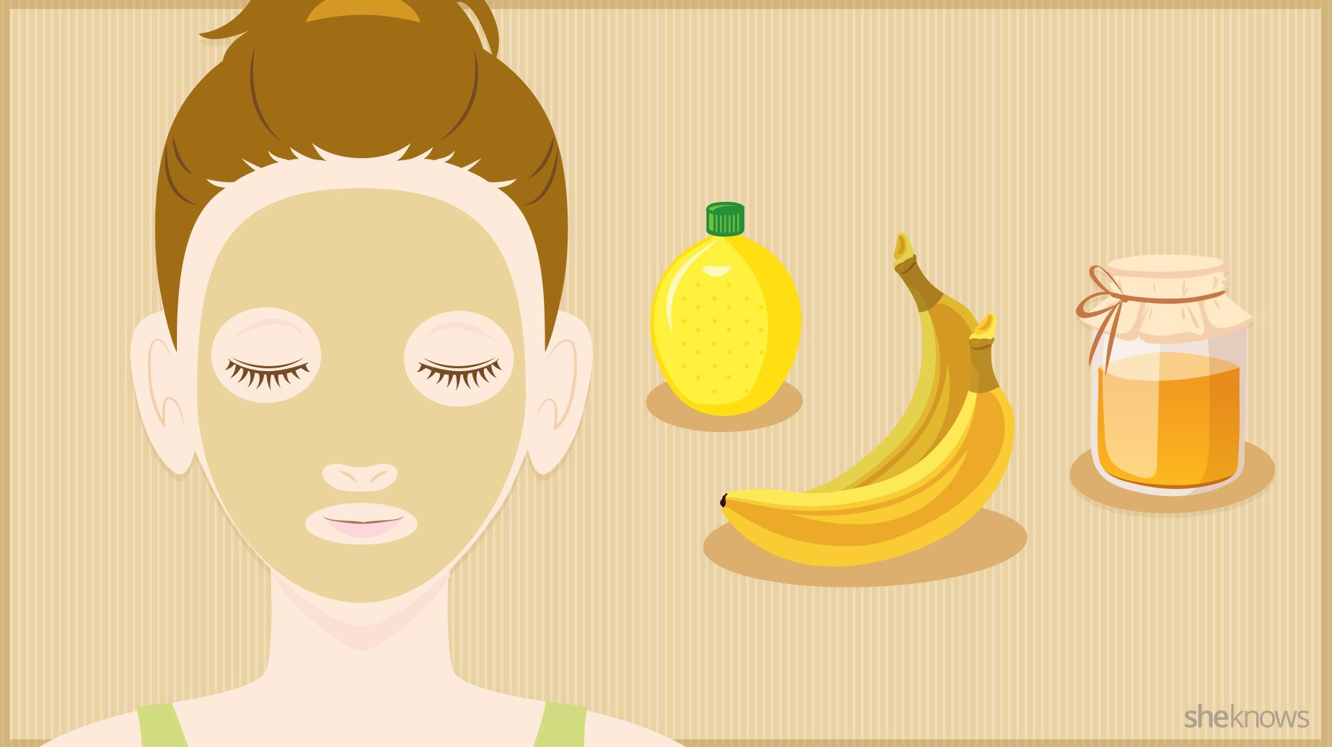 Quickly Brighten Your Skin With Squash Banana Face Mask Homemade Face Masks Face Cream