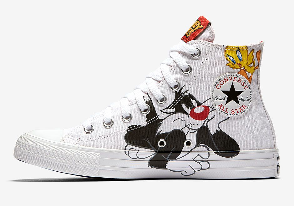 looney tunes converse adults
