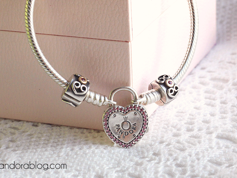 Review: Lock your Promise Bracelet from Pandora Valentine's 2018 ...
