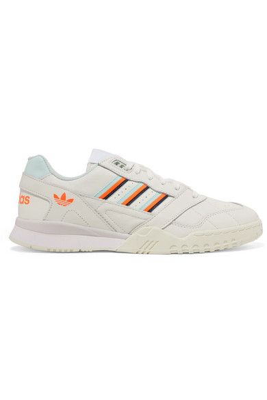 adidas Originals - A.r. Trainer Grosgrain-trimmed Quilted ...