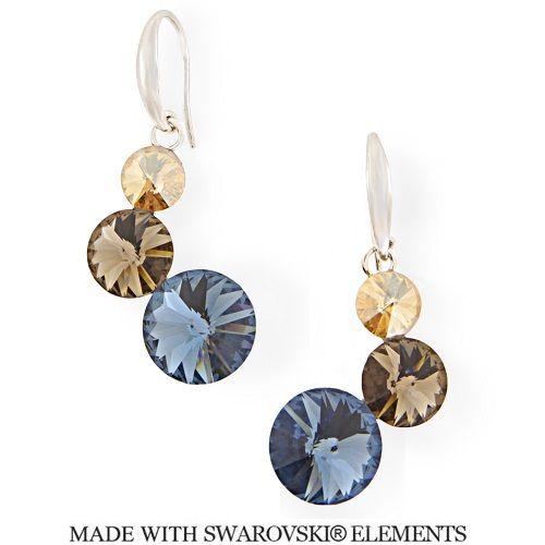 19379cbb2 Náušnice s kryštálmi Swarovski Elements Lollipop KW11223N | Divine  Jewellery eshop