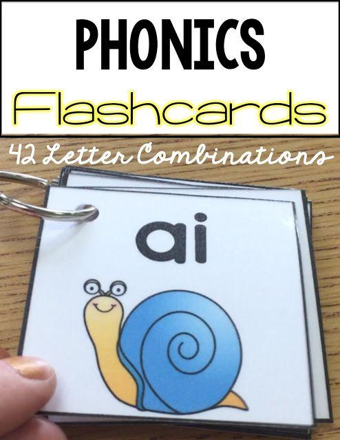 Vowel Helpers Phonics Flashcards Phonics Cards Phonics