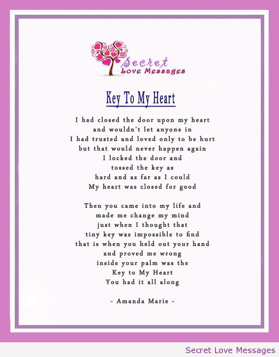 Sweet Poems of Love From The Heart