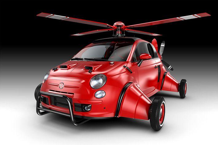 Flying Fiat By Jomar Machado 21 Amazing Concept Vehicles