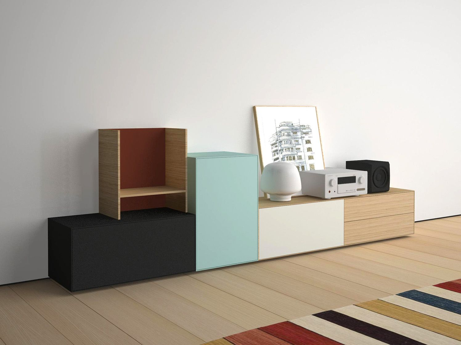 Tv Media Furniture Lauki Treku Lauki Collection Living  # Meuble Tv Treku