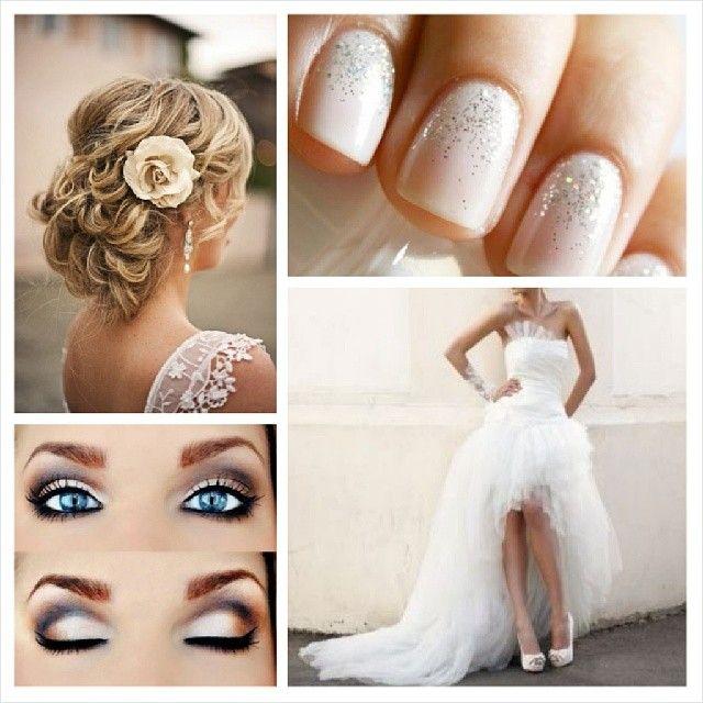 Favori www.robe-discount.com Inspiration mariage. Coiffure chignon avec  TP63
