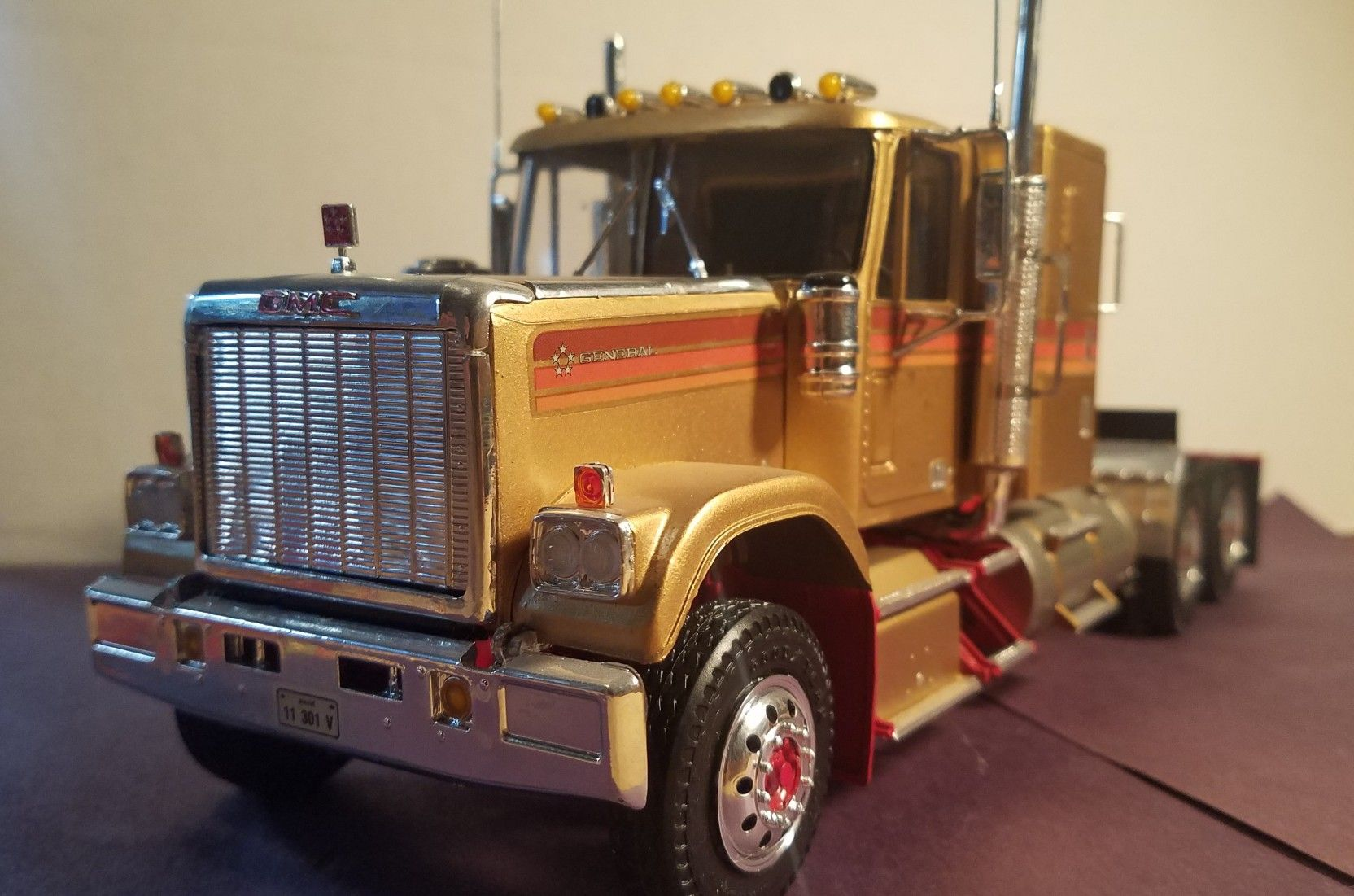 1 25 Scale G M C General Built By A Levenson Gmc Trucks Car