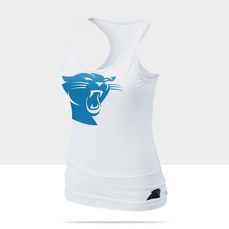 30 Nike Big Logo Tri-Blend (NFL Panthers) Women s Tank Top  b76e23234