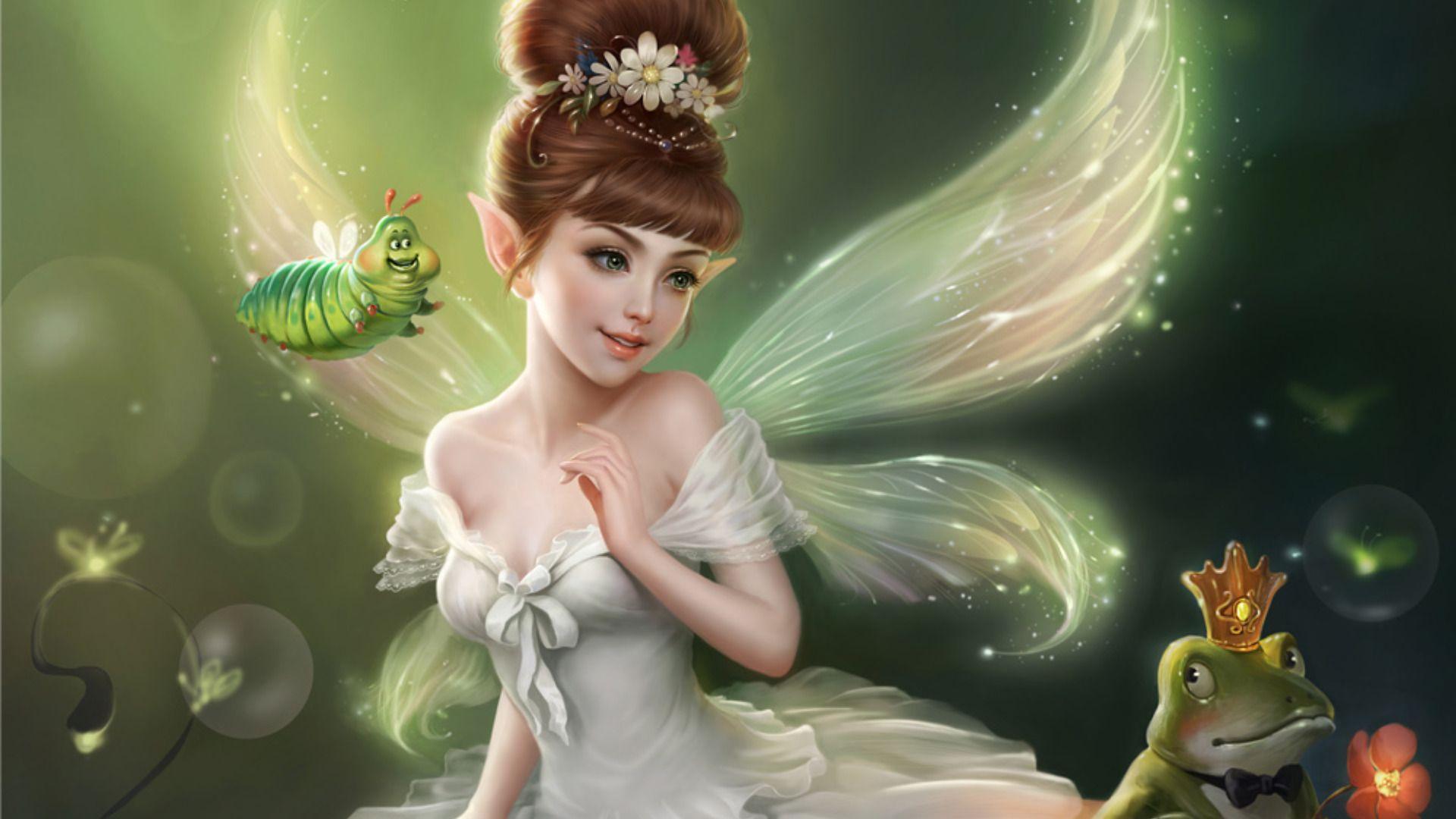 water fairy wallpaper beautiful - photo #22