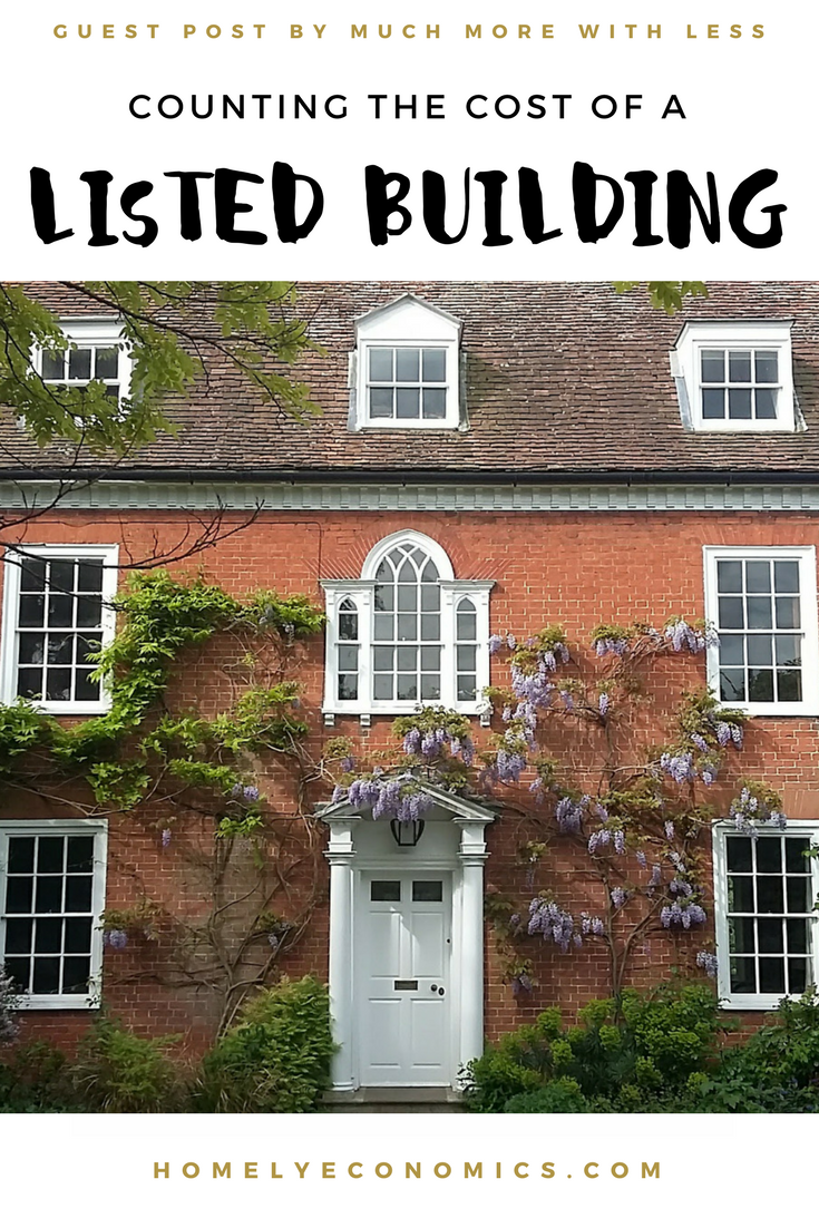 Counting the cost of a listed building true cost building and