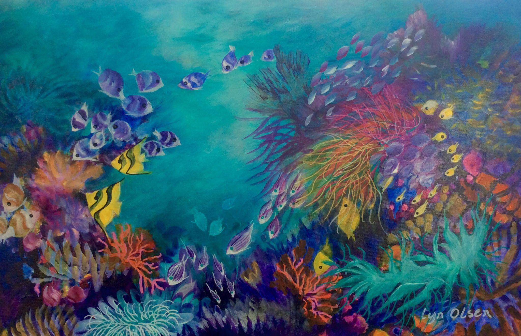 http://www.lynolsen.com underwater corals and fish from ...