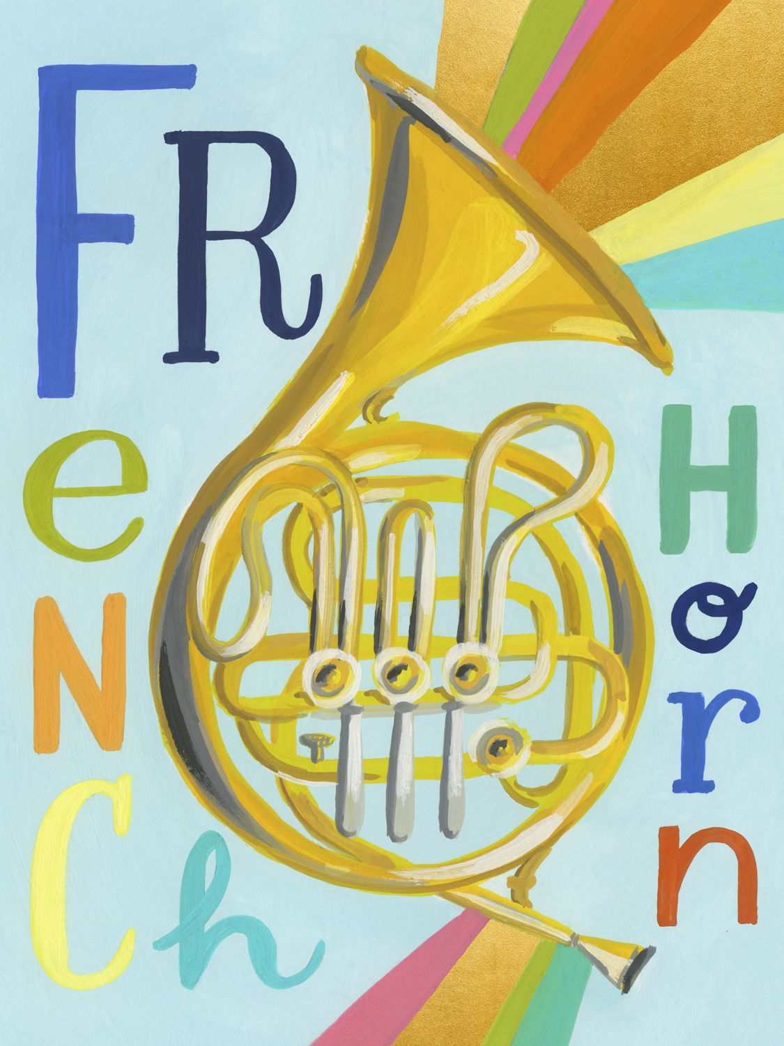 Musical Melodies - French Horn by Jessica Allen | Music to my ears ...