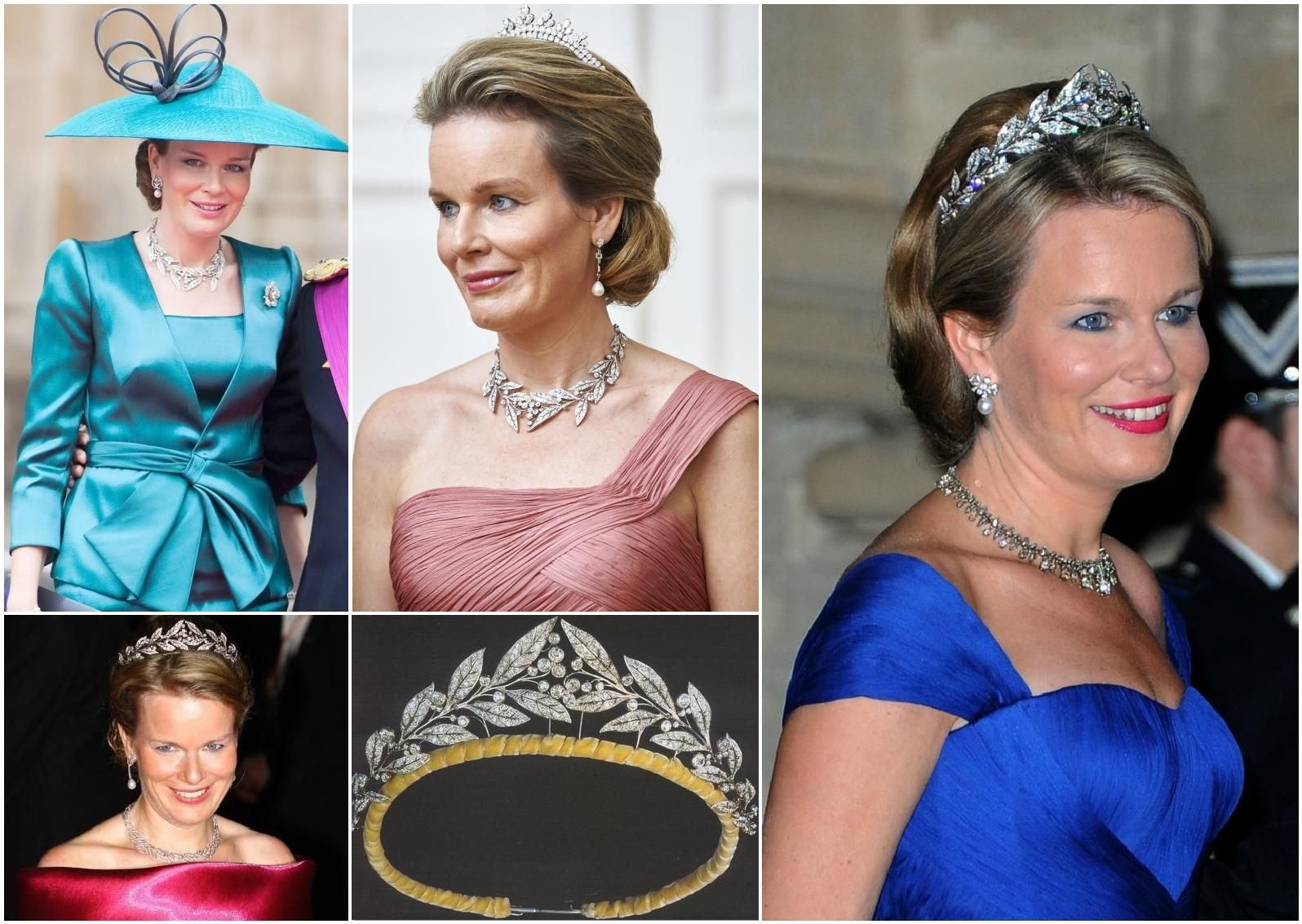 A Classic Belgian Wedding: The Brabant Laurel Wreath Tiara. Made By London Jewelers