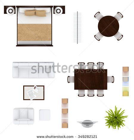 Furniture Top View