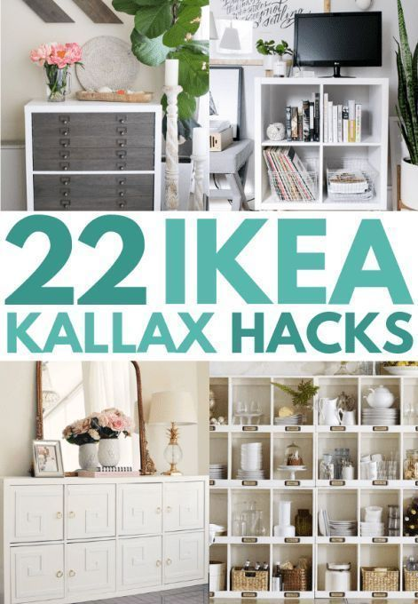 21 IKEA Kallax Hacks That You Need In Your Home Now #cheapdiyhomedecor
