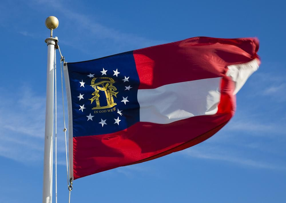 Since this state flag is made in
