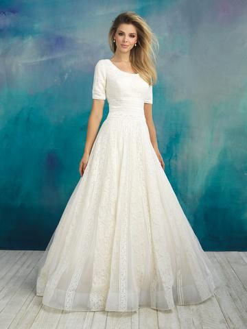 Allure Bridals offers an amazing selection of modest wedding dresses ...