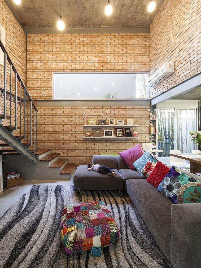Desain Interior Hemat Dengan Batu Bata Ekspos 04