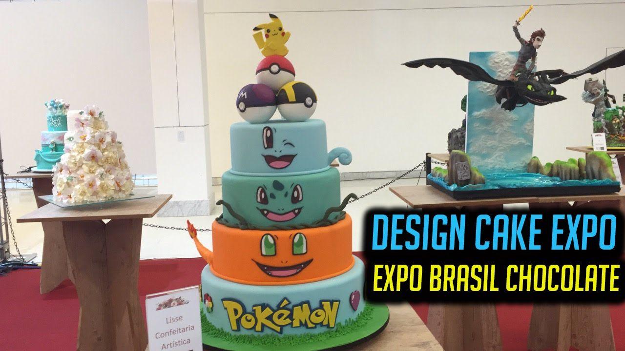 EXPO BRASIL CHOCOLATE - CAKE DESIGN EXPO   Jacky Coutinho