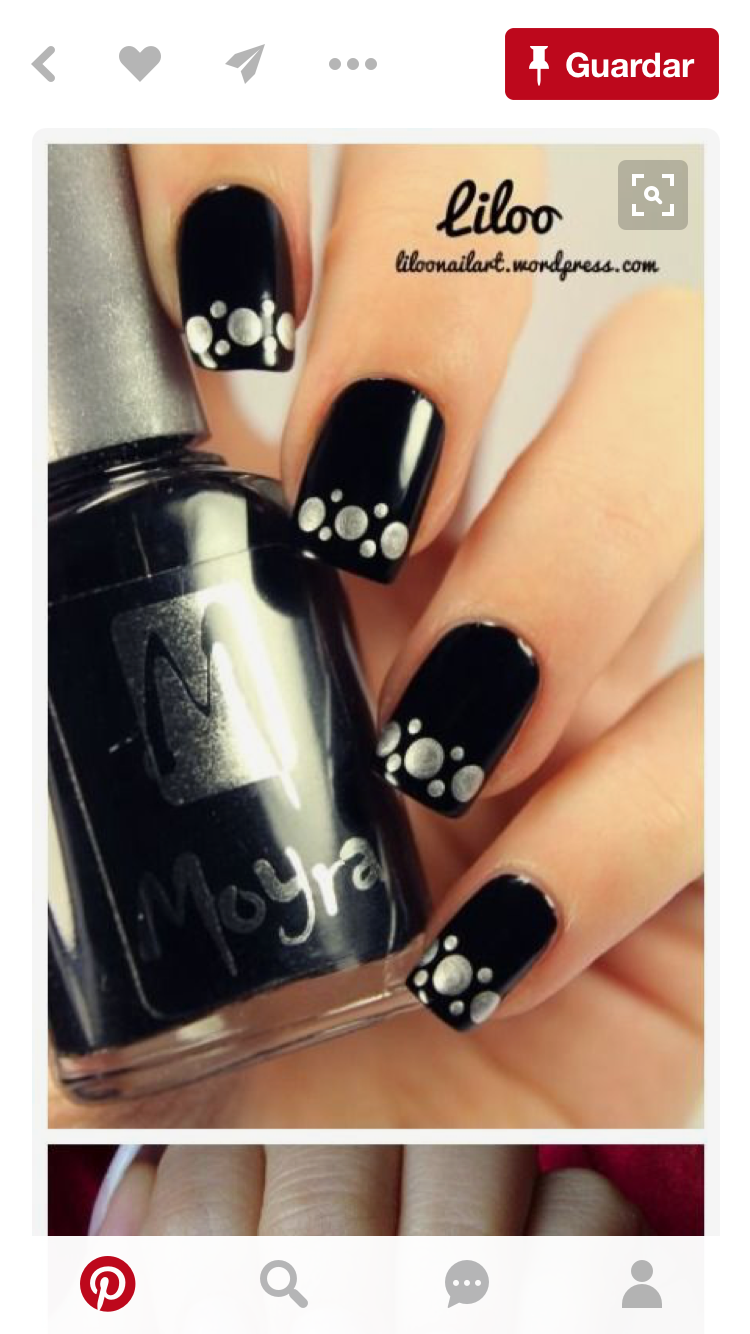 Pin by yeri mb on uas pinterest nice stylish black nail designs you can do yourself ohh my my solutioingenieria Choice Image