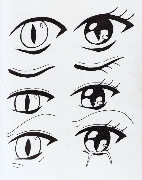 Cool Cat Eyes Things To Draw In 2019 Pinterest Anime Drawings
