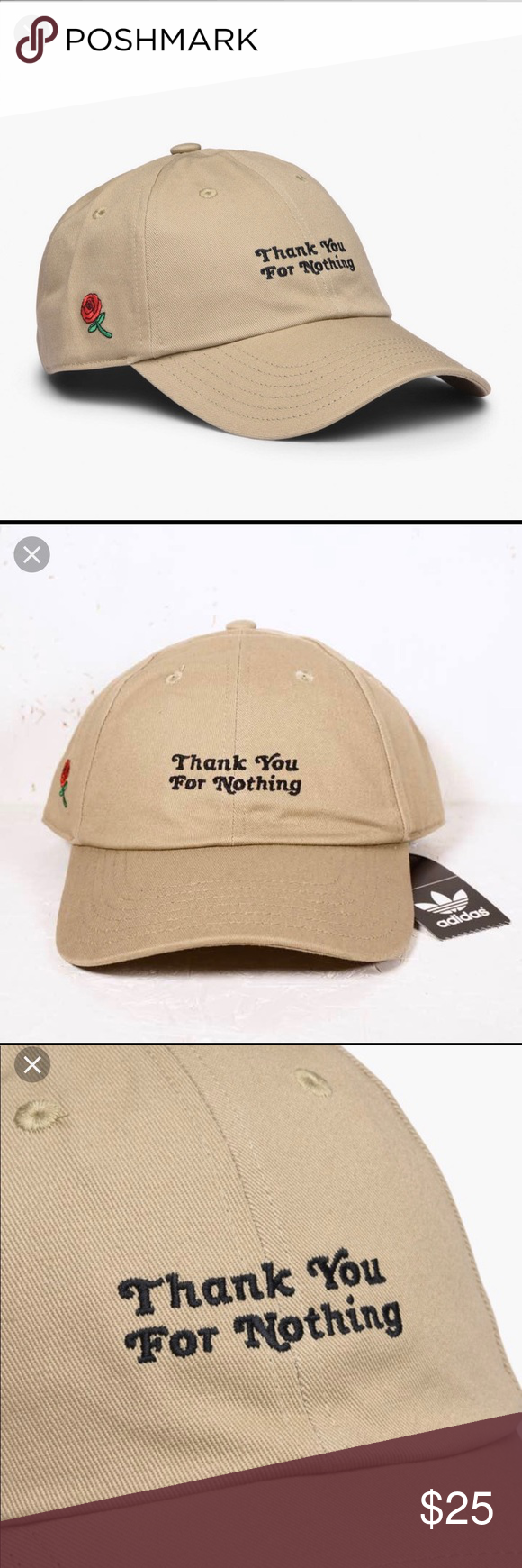 d947e024 New! Thanks for Nothing DAD Hat. Adidas Thanks for Nothing DAD Hat ...