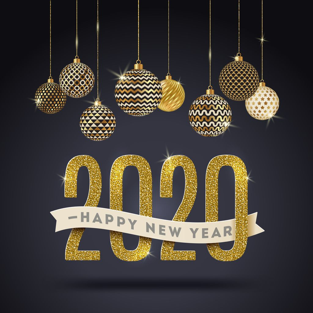 Happy New Year! happynewyear in 2020 Vector free, Free