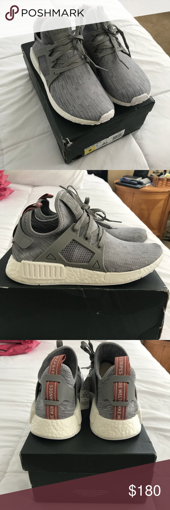 adidas donne rt rt nmd adidas nmd nel colore chiaro onix