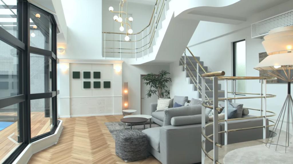 テラスハウス東京2019 住所や間取り 内装を画像で紹介 家賃の衝撃的価格とは テラスハウス 家 部屋 インテリア