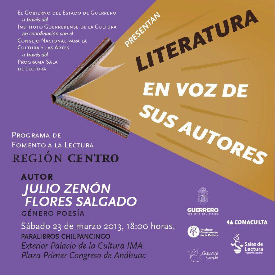 Noticias Acapulco News - Literatura en Voz de sus Autores se presentará en Acapulco y Chilpancingo